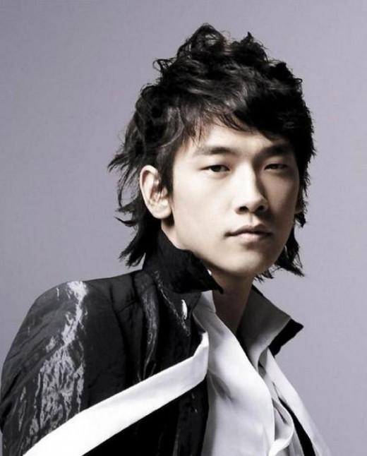 Bi Rain hairstyle