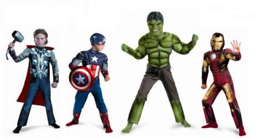 Kids Avengers Costumes