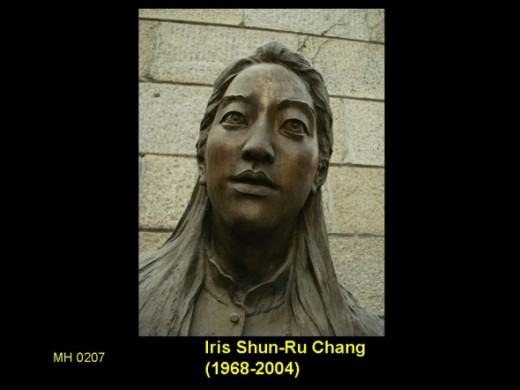 Chang wrote three books documenting the experiences of Asians and Chinese Americans in history..       She is best known for her best-selling 1997 account of the Nanking Massacre, The Rape of Nanking. She committed suicide on November 9, 2004. Chang