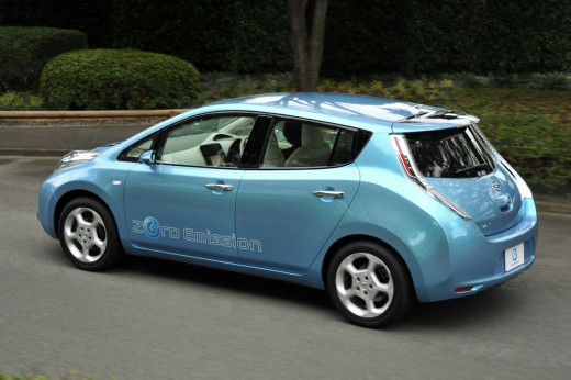 EV Nissan Leaf