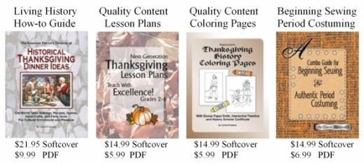 Thanksgiving history curriculum for homeschool