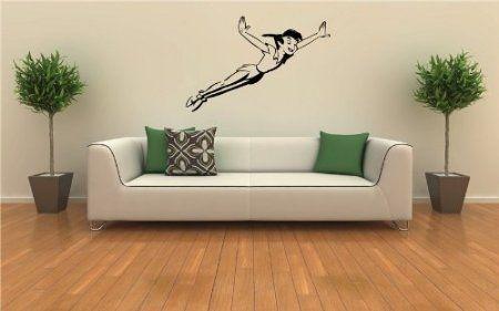 Peter Pan Wall Mural Vinyl Sticker