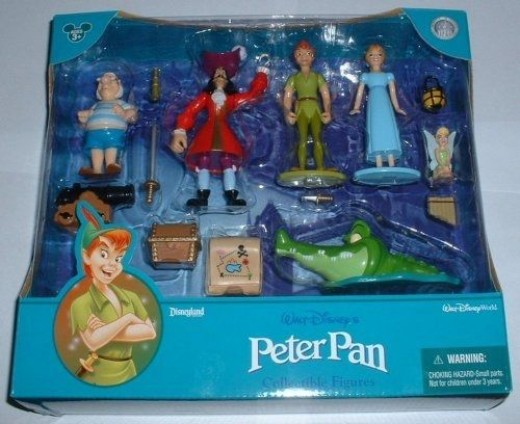 Peter Pan Collectible Figure Set
