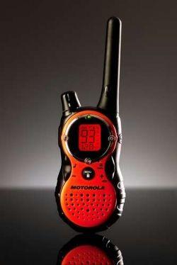 A walkie talkie