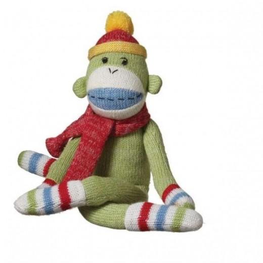 Jo Jo Plush Sock Monkey