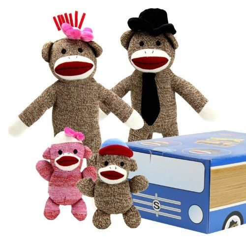 The Sock Monkey Family