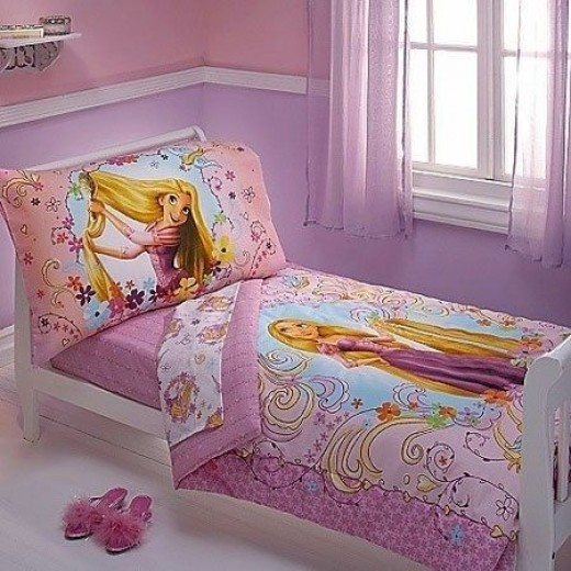 Disney Rapunzel 4 Piece Toddler Set