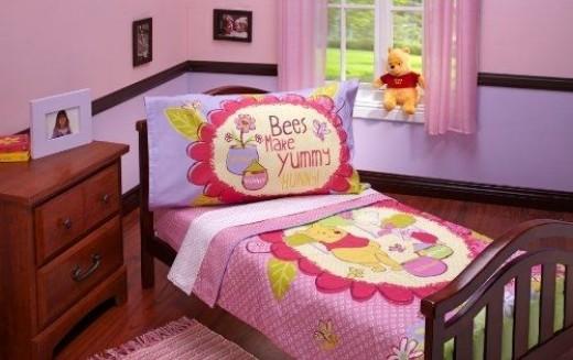 Disney 4 Piece Yummy Hunny Toddler Set