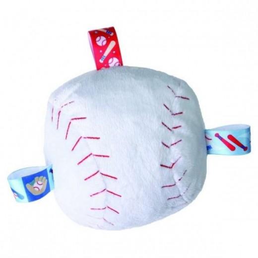 Mary Meyer Taggies Plush Homerun Baseball