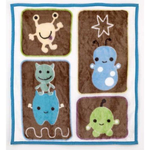 Peek a Boo Monsters Soft & Cozy Blanket