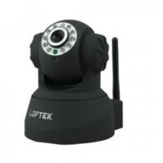 LOFTEK Newest CXS 2200 Wireless/Wired Dual Audio Alarm Ip camera