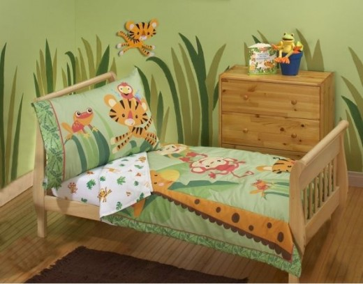 Rainforest 4-Piece Toddler Set