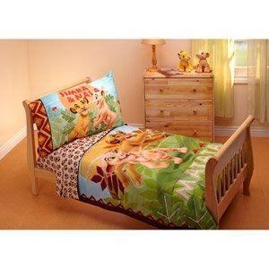 Lion King 4 Piece Toddler Bedding Set