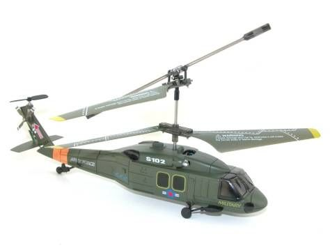 Syma S102G Black Hawk UH-60 RC Helicopter