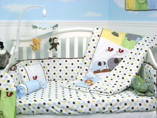 Noah Ark Baby Crib Nursery Bedding