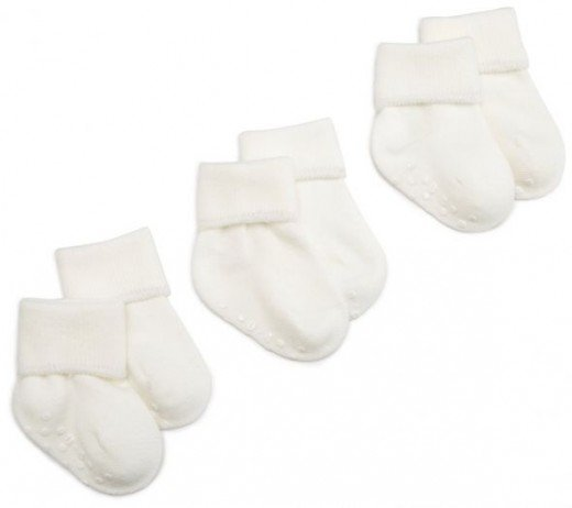 Jefferies Socks Organic Cotton Turn Cuff Sock