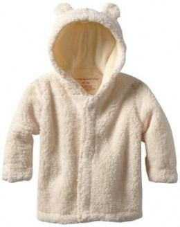 Magnificent Baby Unisex-Baby Infant Cream Hooded Jacket