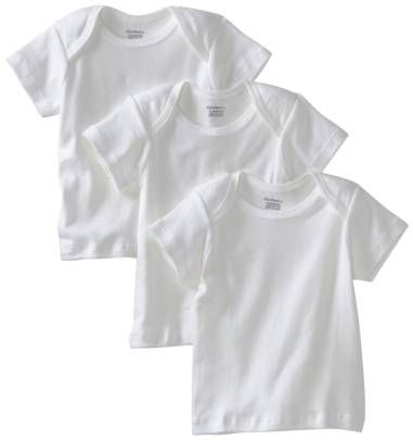 Gerber Unisex-Baby Newborn 3 Pack Pullon Short Sleeve Shirt