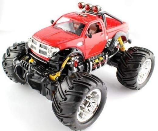 Dodge RAM RC Monster Truck