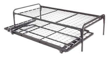 Trundle Beds Duralink Twin Pop Up Trundle Bed Frames