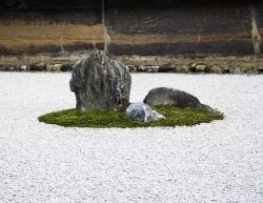 The Unbelievably Beautiful Zen Garden At Ryoan-ji In Kyoto, Japan