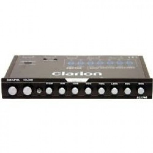 Clarion equalizer
