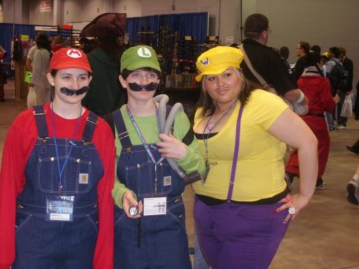 Mario Bros with my GF!