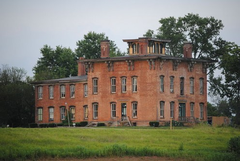 Prospect Place is a historic mansion built by G.W. Adams in Trinway Ohio. It was a stop on the underground railroad.