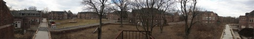 A panoramic view around Pennhurst.