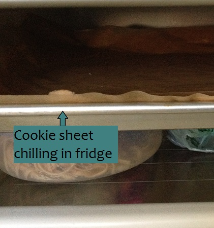 Refrigerate rolled dough for 15-30 minutes