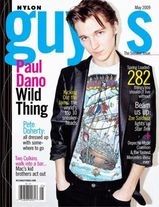 Paul on the Nylon Guys May 2009 cover