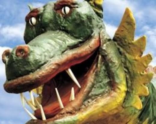 Marraco, Lleida's pet dragon