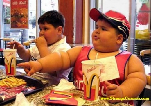 Fast Food Restaurants Serve Fried Dishes That Cause Obesity.