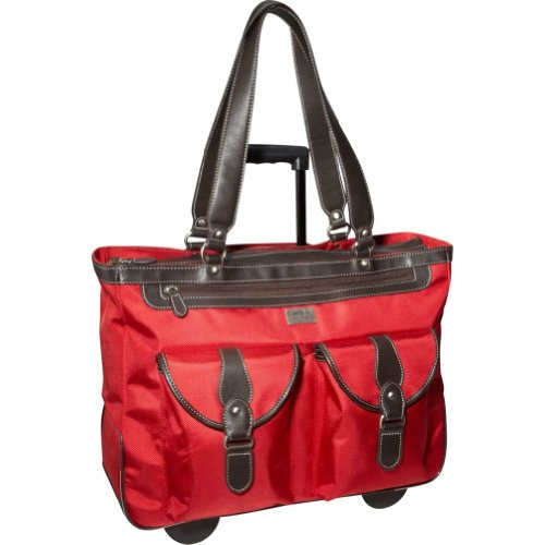 Clark & Mayfield Marquam 18.4″ Rolling Laptop Tote