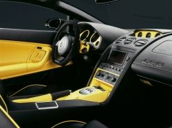 The Interior of the Gallardo