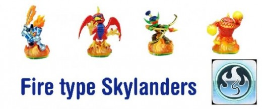 Generation 1 - Spyros adventure Fire type Skylanders