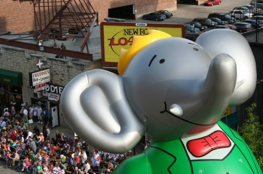 Have you seen Babar the Elephant Stroll By?