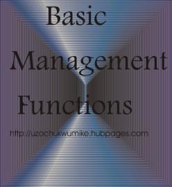 Basic Management Functions