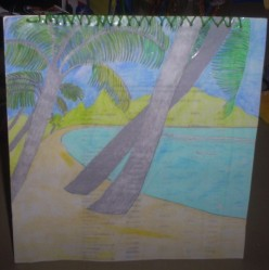 How To Make A Palm Tree Card