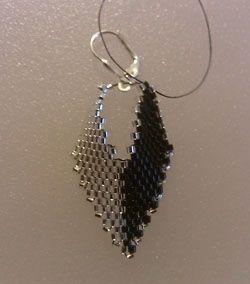 Russian Beaded Earrings #21