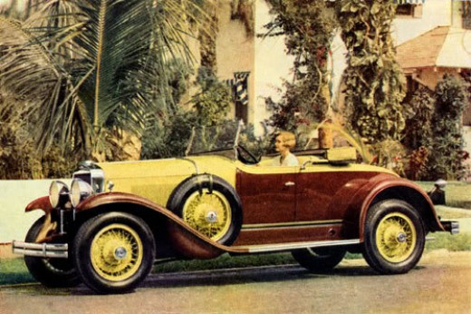 Photo from Late 1920's Cadillac Advertisement
