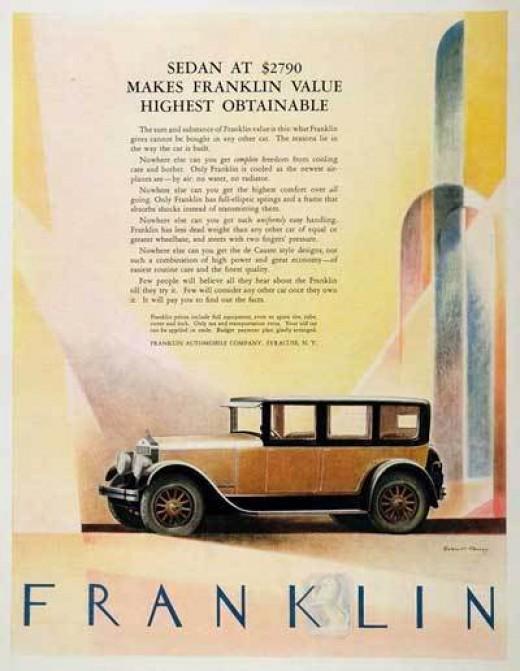 1926 Franklin Sedan