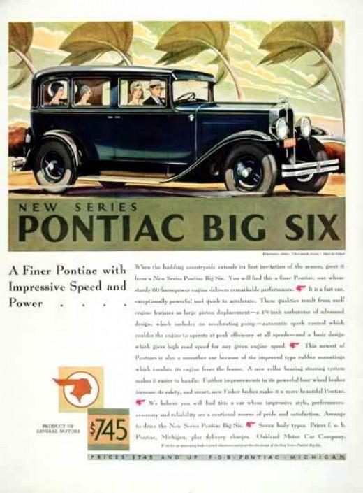 "1930 Pontiac ""Big Six"" Sedan"