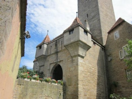 Rothenburg entrance
