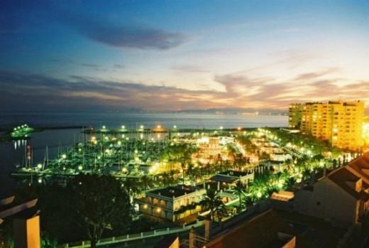 Estepona Port in the Evening