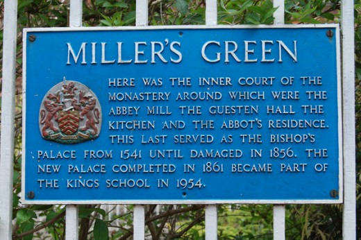 Millers Green Plaque