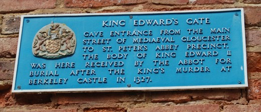 King Edwards Gate Plaque