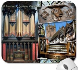 Ludlow Parish Church organ, UK