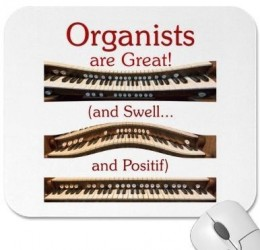 Organists are Great mousepad
