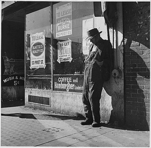 A picture from the great depression